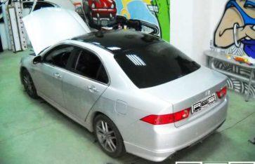 Частичная оклейка автомобиля Honda Accord