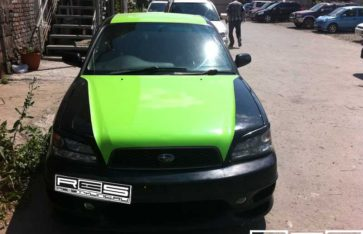 Оклейка винилом автомобиля Subaru Legacy B4