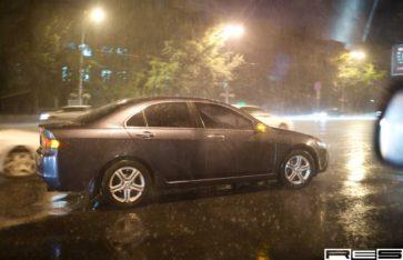Оклейка автомобиля карбоном Hexis Honda Accord