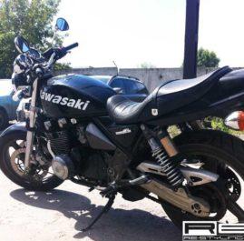 Оклейка винилом мотоцикла Kawasaki