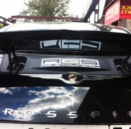 Оклейка автомобиля Chrysler crossfire