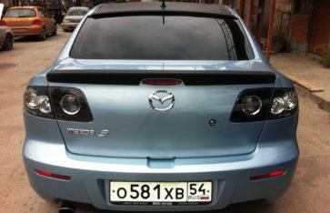 Mazda 3 Стайлинг автомобиля карбоном