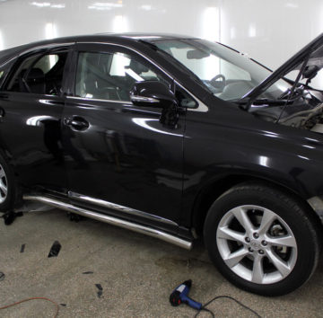 Качество RE-Styling. Оклейка LEXUS RX 350 в Томске.