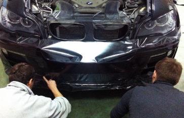 Защита кузова BMW X6. Защитная пленка.