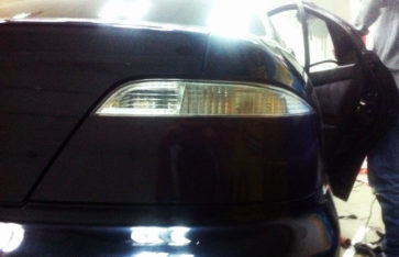 Автовинил на Honda Inspire. Carbon 3D.