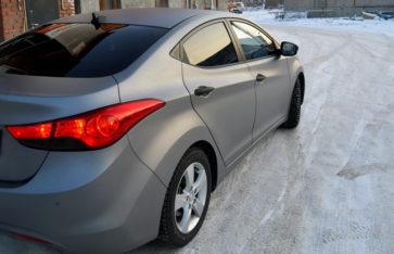 Полная оклейка Hyundai Avante. Защита кузова пленкой.