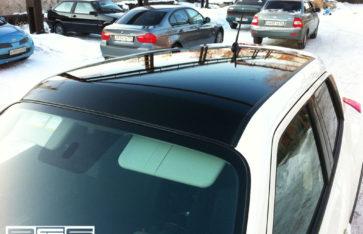 Панорамная крыша на Nissan Juke
