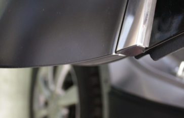 Полная оклейка Infiniti EX35 в черный мат. Оклейка по акции.