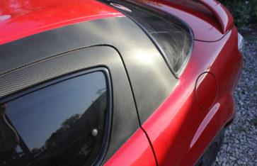 Mazda RX8 стайлинг карбоном