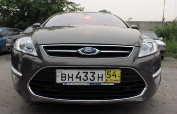 Защита нового автомобиля. Ford Mondeo.