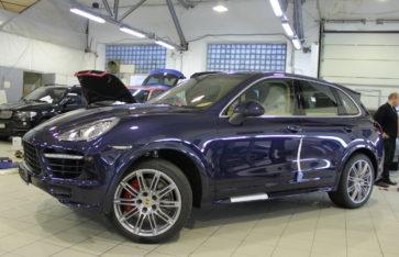 Porsche Cayenne «Синий хром» от RES Москва