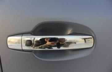 Lexus 570 — и снова матовая защита