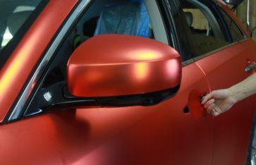 Ifinity fx37 Red matt Chrome. Очередная хромовая бомба от RE-Styling.