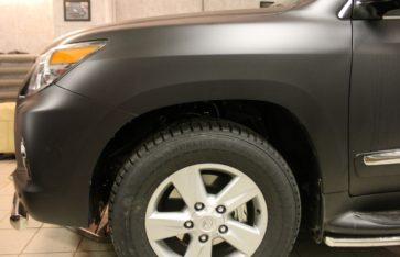 Lexus 570 Тотальное бронирование автомобиля.