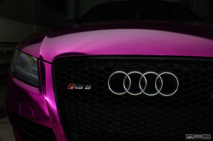 Весенние краски! Audi RS5 «Фиолетовый хром» и BMW X6M «Желтый матовый хром»