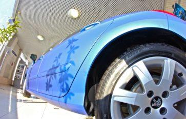 Готовый результат работы с автосалоном «Peugeot»