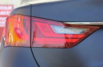 Lexus GS250. 2 в 1 Матовая ламинация.