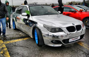 BMW E60 Chrome Edition