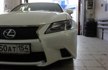 Защита кузова Lexus GX250 F sport
