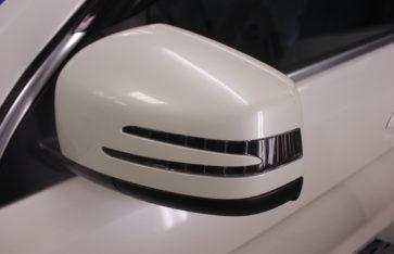 Защита кузова Mercedes GL. Бронирование фронтальной части автомобиля.