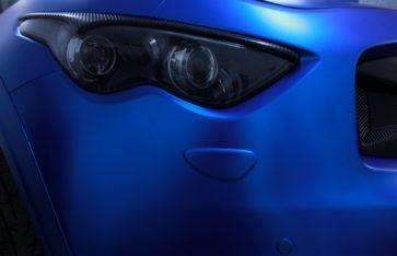 Infiniti FX50S (Revolter) — Синий Матовый хром