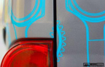 Брендирование Nissan Vanette 2013