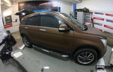 Honda CR-V — оклейка в пленку Arlon «Aztec Bronze»