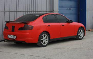 Nissan SkyLine. Racing Red (matt).
