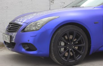 Infinity G37 Coupe. Matte Chrome.