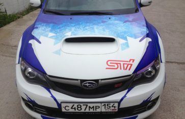 Subaru STI «Винилография»