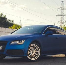 Audi A7. ARLON «Deep Ocean»