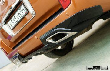 Брутальный Lexus 570 «Bronze metallic».