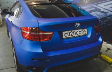 BMW X6 «Blue Alluminium»