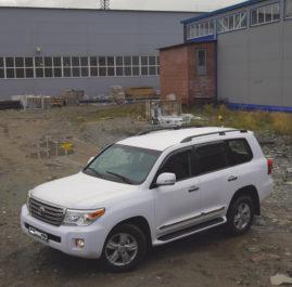 Land Cruiser 200 (2014 г.) «White Matte»