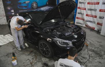 Защита Mercedes CLA