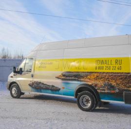 Брендирование Ford Tranzit