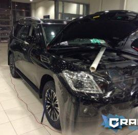 Защита автомобилей Nissan Patrol (2014) и X-Trail (2014)