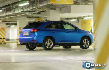 Lexus RX 350 в глубоком синем цвете «Blue Aluminium»