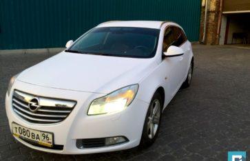 Opel Insignia «Белоснежный мат»