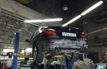 Новая выхлопная система BMW 530 (E60)