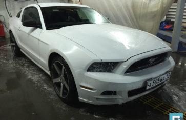 Ford Mustang, изготовление выхлопной системы