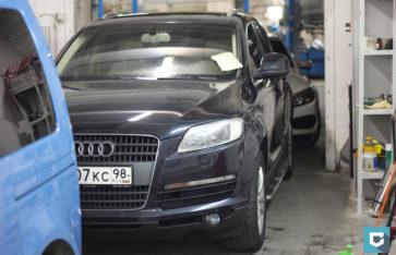 Полировка пленки Audi Q7