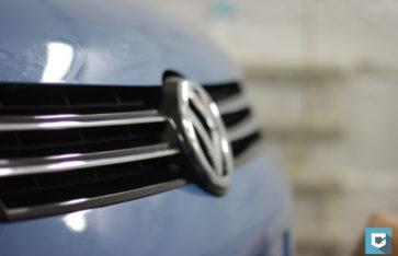 VW Caddy защита пленкой