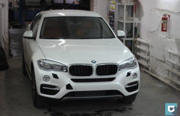 Защита нового BMW X6 F16