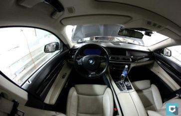 Оклейка прозрачной пленкой BMW 7-Series (F01)