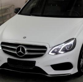 Белый мат Mercedes-Benz E (212)
