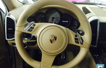 Стайлинг и покраска дисков Porsche Cayenne S