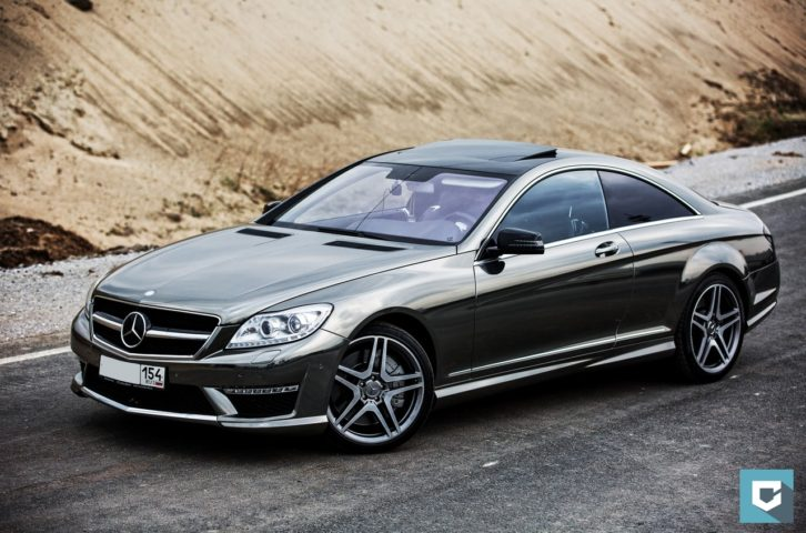 Mercedes-Benz Cl 6.3 AMG «Black Chrome»