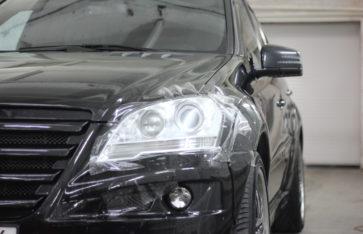 Защита Mercedes ML