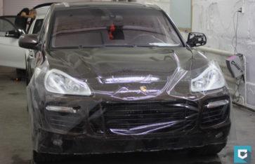 Porsche Cayenne блеск и защита!